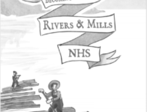 Rivers & Mills Comic Book and Podcast for Kids