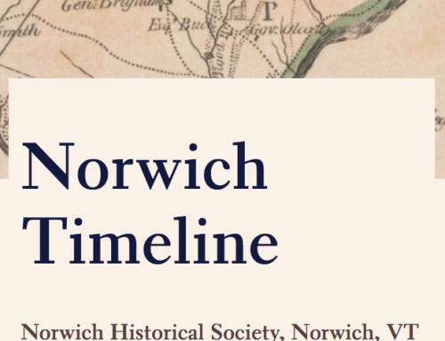 Norwich Timeline