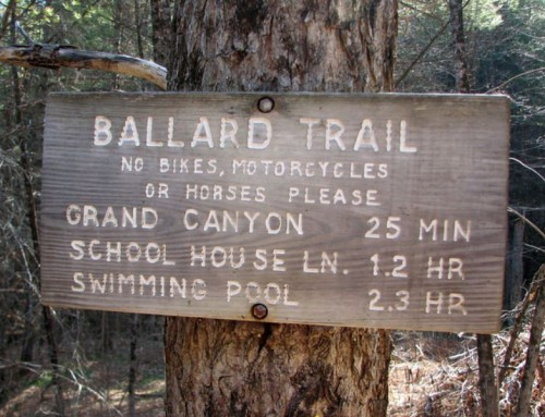 The Origins of the Ballard Trail